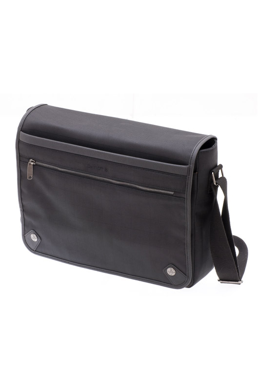 Besace porte ordinateur manhattan noir davidt s for Porte ordinateur