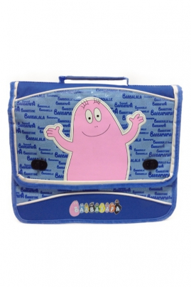 Cartable - BARBAPAPA BLEU