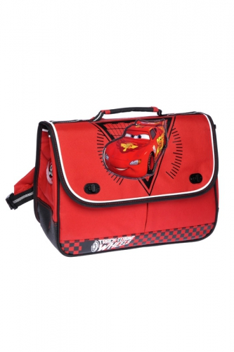 Cartable - CARS ROUGE