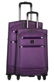 Ensemble de 2 Valises - MANELA VIOLET