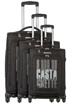 Ensemble de 3 Valises - 15046/3 NOIR
