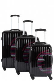 Ensemble de 3 Valises - 15350/3 NOIR