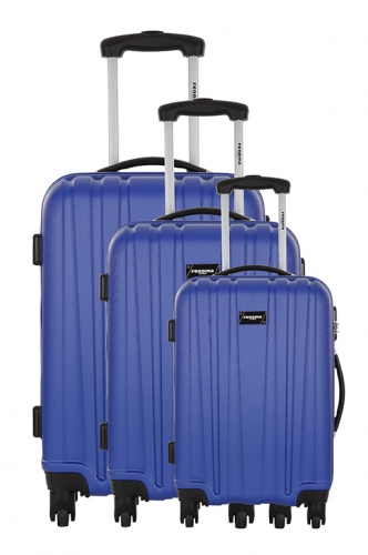 Ensemble de 3 Valises - AFFLECK BLEU