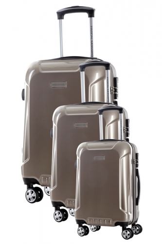 Ensemble de 3 Valises - ALANITE BEIGE