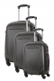 Ensemble de 3 Valises - BEDFORD GRIS