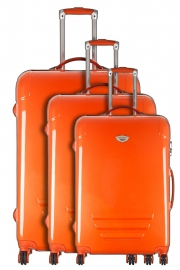 Ensemble de 3 Valises - COLORS ORANGE