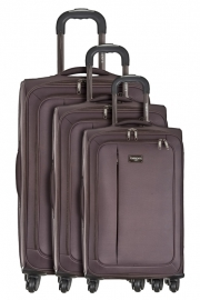 Ensemble de 3 Valises - FRAGOLA MARRON