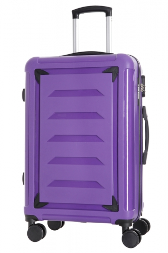 Ensemble de 3 Valises INCASSABLES  - GOLDBERG VIOLET