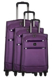 Ensemble de 3 Valises - MANELA VIOLET