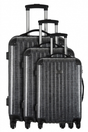 Ensemble de 3 Valises - ROMAIN GRIS