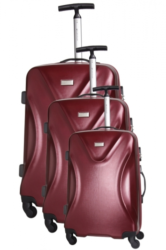 Ensemble de 3 Valises - SOLWAY  BORDEAUX