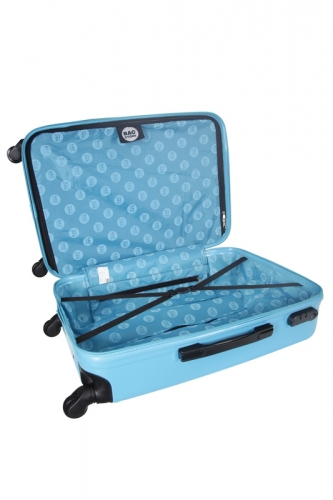Ensemble de 3 Valises - TWISTER BLEU