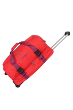 Sac à Roulettes Double Compartiment 66cm - 45852 ROUGE
