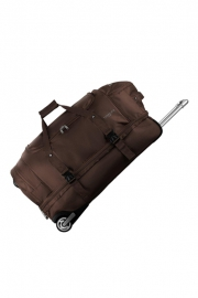 Sac à Roulettes double compartiment - BABYLONE MARRON