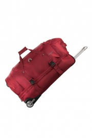 Sac à Roulettes double compartiment - BABYLONE ROUGE