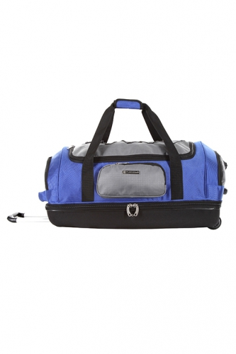 Sac Double Compartiment - JOLIETTE BLEU