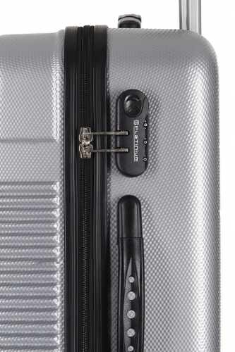 Valise - ALBANS ARGENT - Taille S
