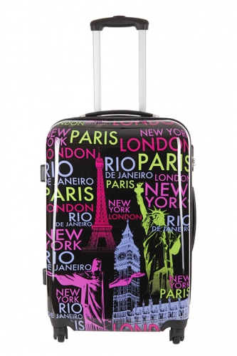 Valise - AUCKLAND IMPRIME - Taille L