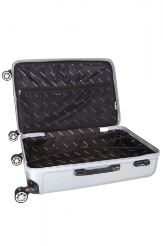 Valise - BAZZANO  ARGENT - Taille S