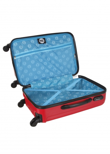 Valise - BLUES ROUGE - Taille S