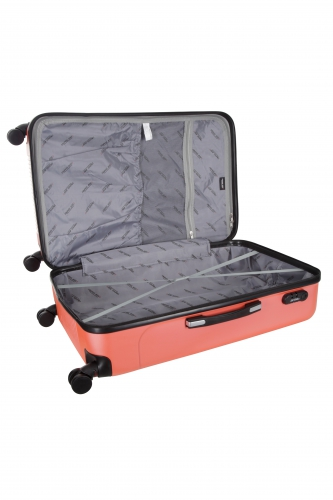Valise - BURNABY -  CORAIL  - Taille S