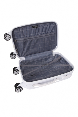 Valise cabine - ASTERIA BLANC - Taille S