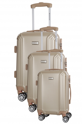 Valise cabine - KIRWEE  BEIGE  - Taille S