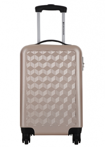 Valise cabine - LAWRENCE BEIGE - Taille S