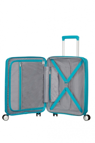 Valise cabine - SOUNDBOX SPINNER SUMMER BLUE - Taille S