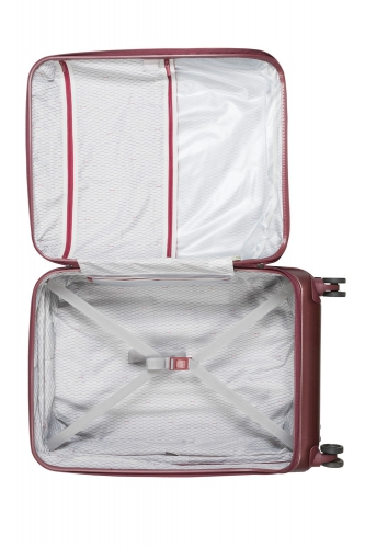 Valise  GRENELLE   ROUGE  - Taille L