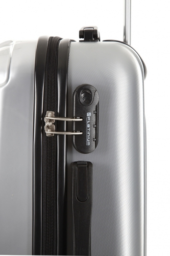 Valise - GRIMSBY ARGENT - Taille L