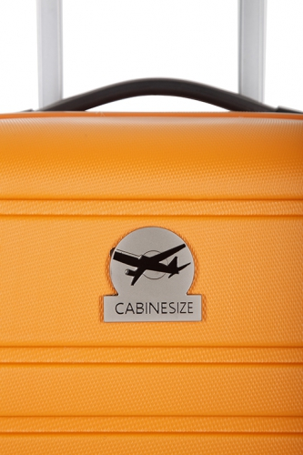 Valise - HALIFAX ORANGE - Taille S Low Cost