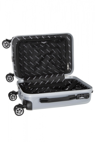 Valise -  HARRISON  ARGENT  - Taille S