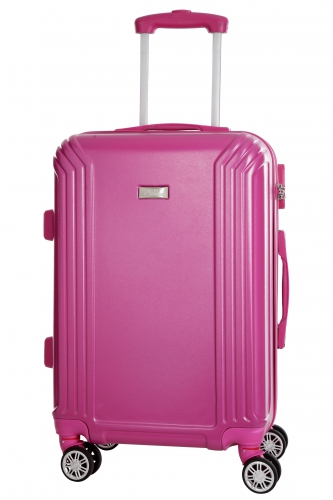 Valise - KIRWEE  FUCHSIA - Taille L