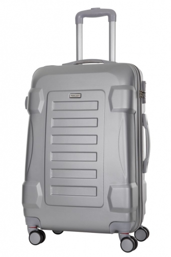 Valise- LINDEN  ARGENT  - Taille S