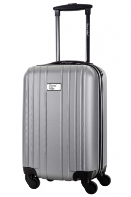 Valise - LIVING  ARGENT   - Taille S Low Cost