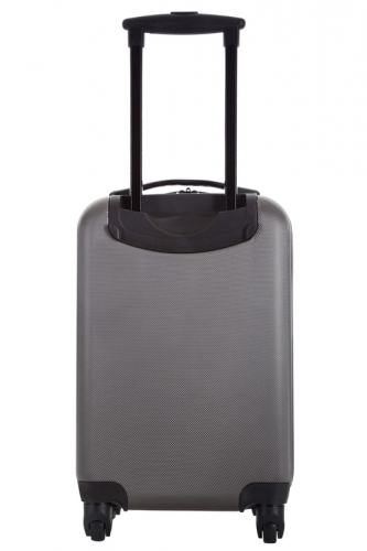 Valise - LIVING  GRIS  - Taille S Low Cost