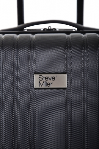 Valise - LIVING  NOIR - Taille S Low Cost