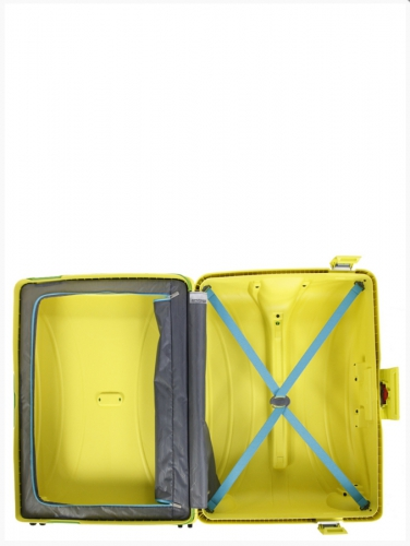 Valise - LOCK'N'ROLL SUNSHINE YELLOW - Taille L