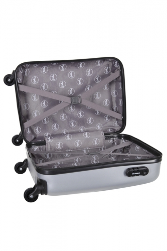 Valise Low-Cost CENTURY - ARGENT