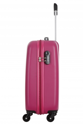 Valise Low Cost - CLANE FUCHSIA - Taille S