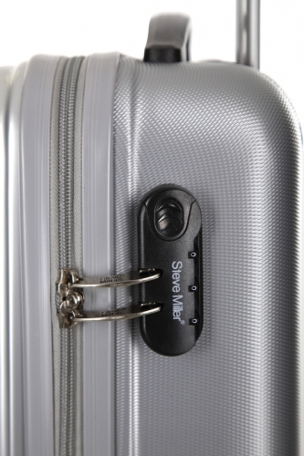 Valise Low Cost - EAGLE ARGENT