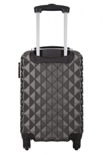 Valise Low Cost - HEART ANTHRACITE
