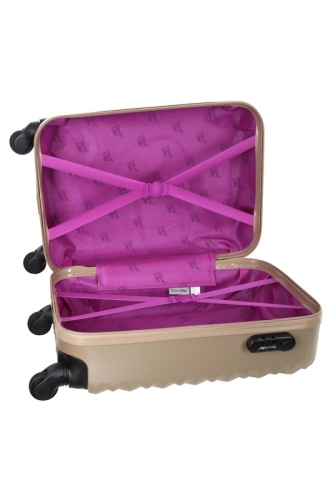 Valise Low Cost - HEART BEIGE