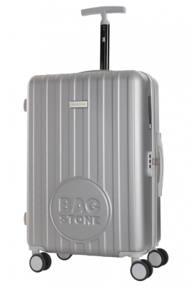 Valise - LUCKY  ARGENT - Taille S