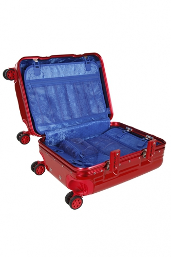 Valise Luxe - KEIHLEY ROUGE - Taille L
