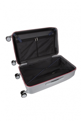 Valise -  MAGENTA ARGENT - Taille S
