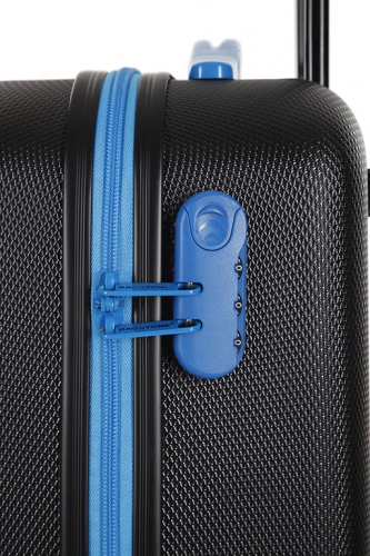 Valise - MILADY NOIR/TURQUOISE - Taille L