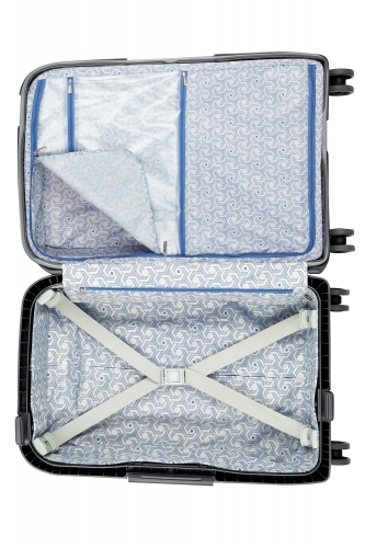 Valise  MONCEY  NOIR SLIM   55  - Taille S