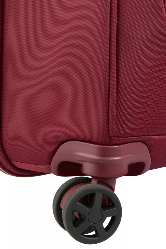 Valise  MONTROUGE  ROUGE  68 CM  - Taille L